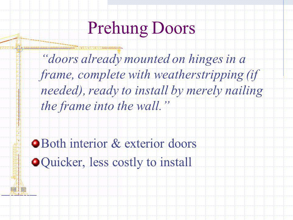 Chapter 18 Windows And Doors Ppt Download
