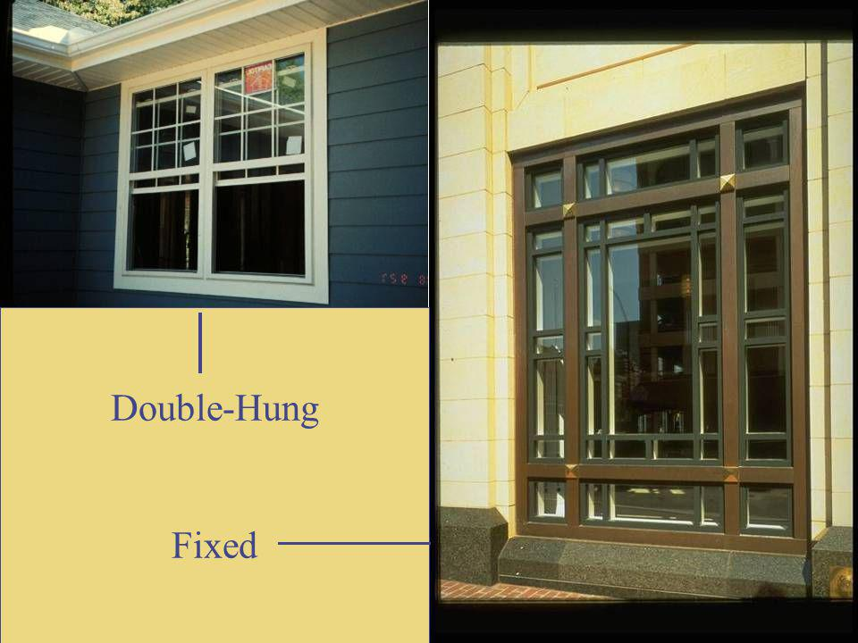 Double-Hung Fixed