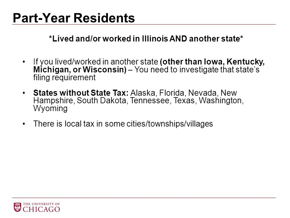 *Lived and/or worked in Illinois AND another state*