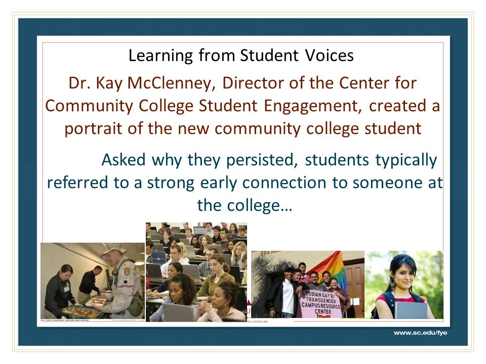 Learning from Student Voices