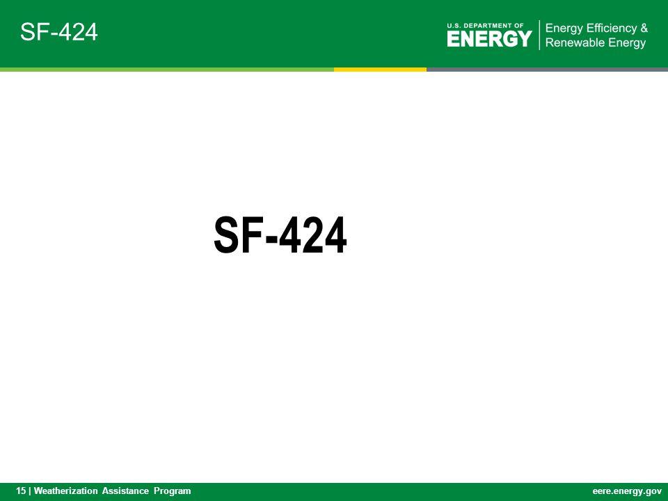 SF-424 SF-424
