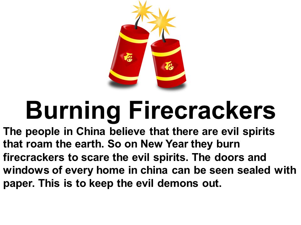 Burning Firecrackers