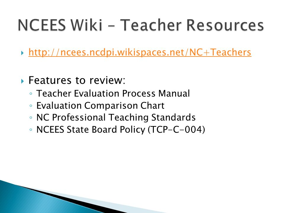 NCEES Wiki – Teacher Resources