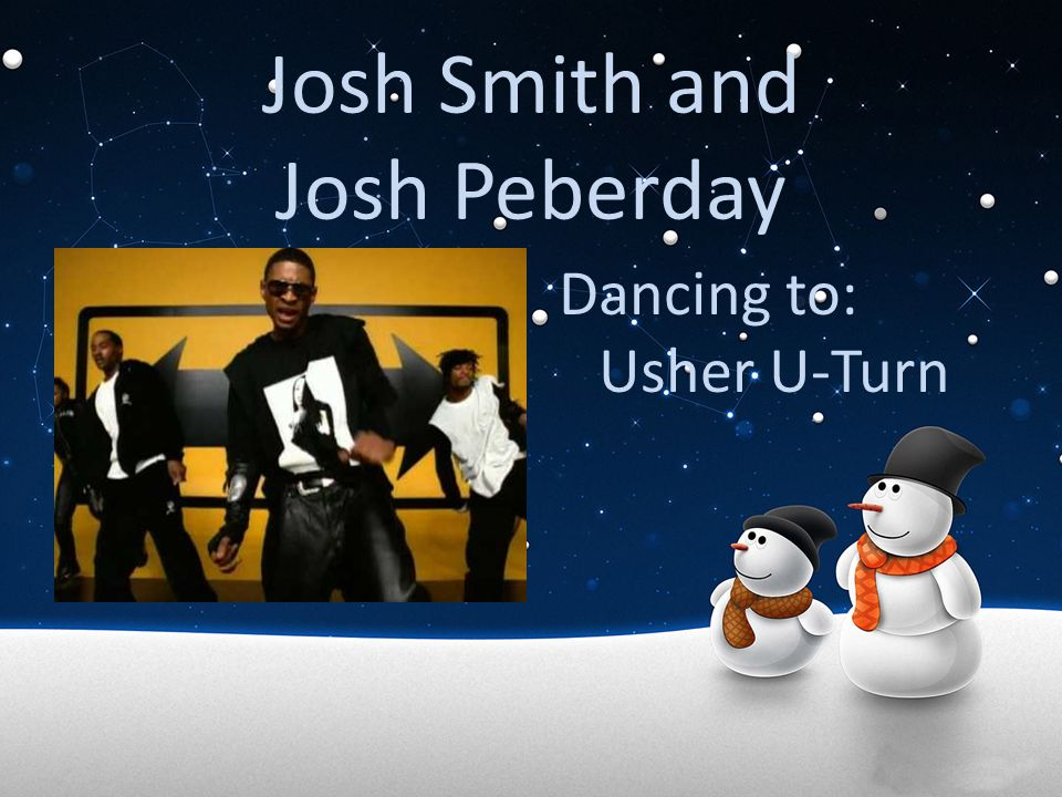 Josh Smith and Josh Peberday