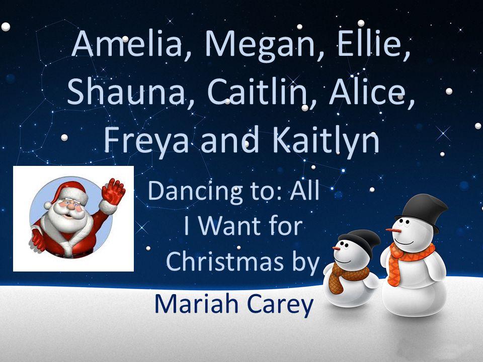 Amelia, Megan, Ellie, Shauna, Caitlin, Alice, Freya and Kaitlyn