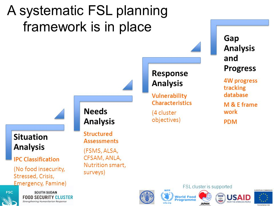 A systematic FSL planning framework is in place