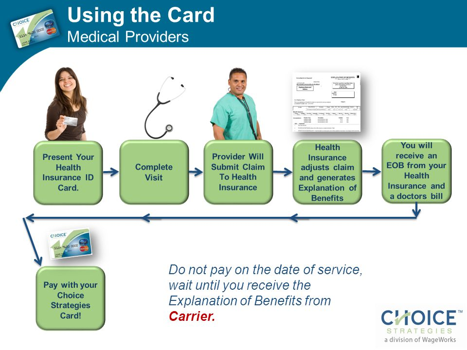 Using the Card Medical Providers
