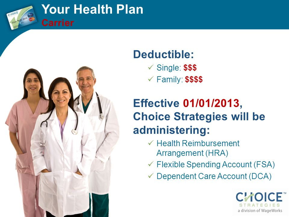 Your Health Plan Deductible: