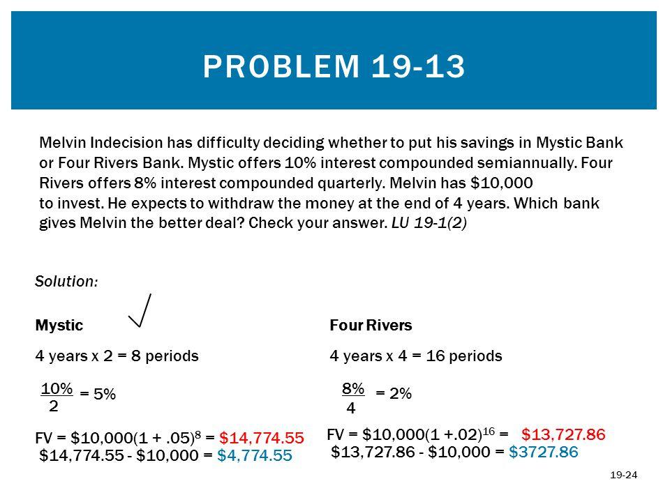 Problem 19-13