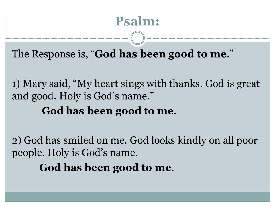 Psalm: