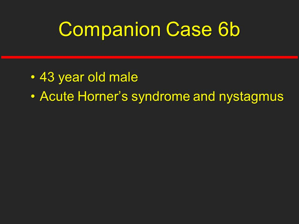 Companion Case 6b 43 year old male