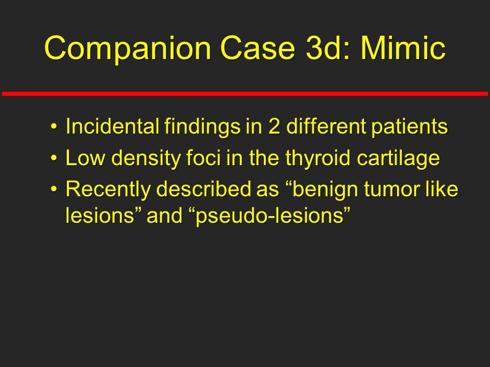 Companion Case 3d: Mimic
