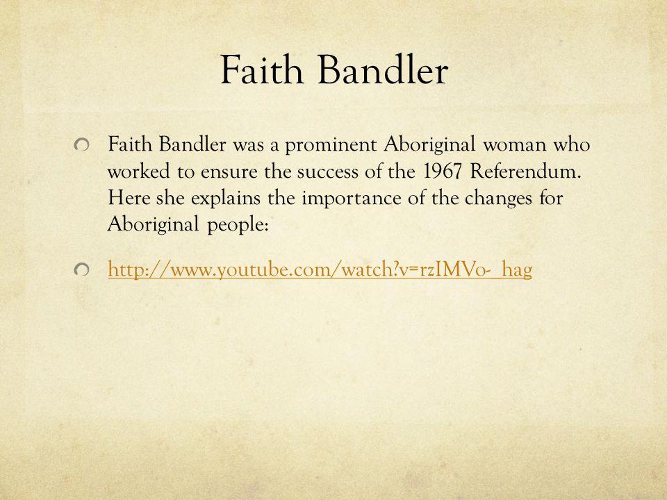 Faith Bandler