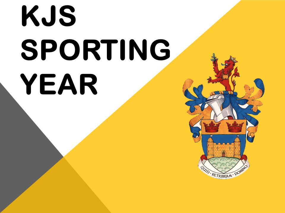 KJS Sporting year