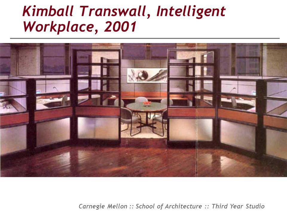 Kimball Transwall, Intelligent Workplace, 2001