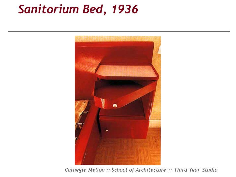 Sanitorium Bed, 1936