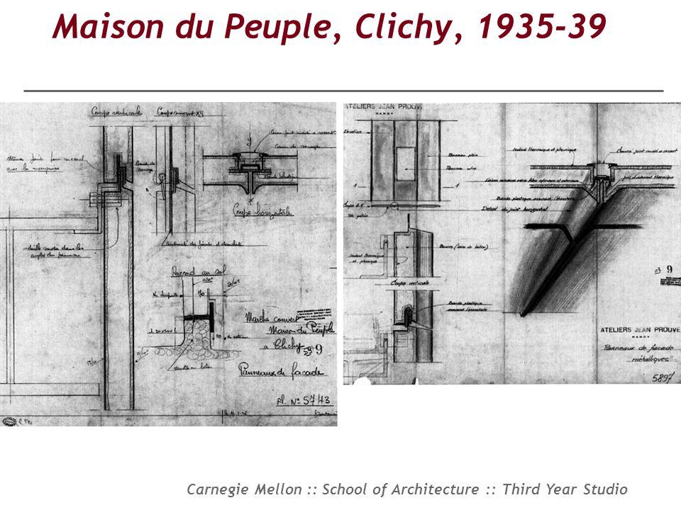 Maison du Peuple, Clichy, 1935-39