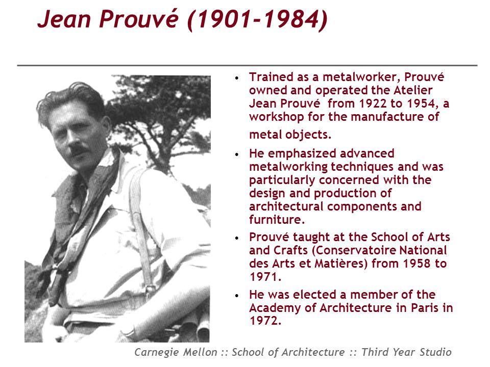 Jean Prouvé (1901-1984)