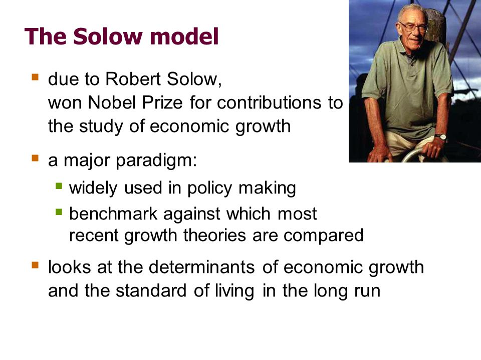 How Solow model is different from Chapter 3's model