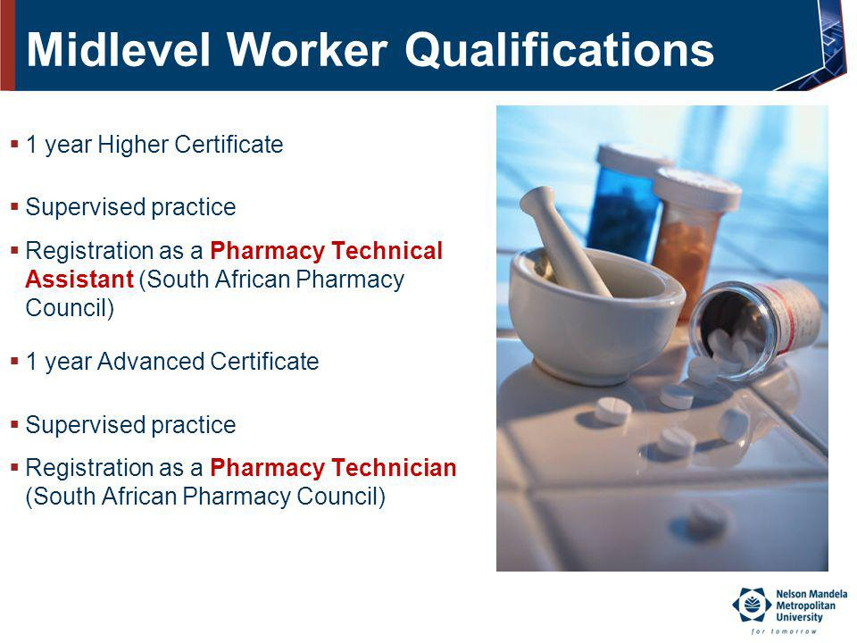 Midlevel Worker Qualifications