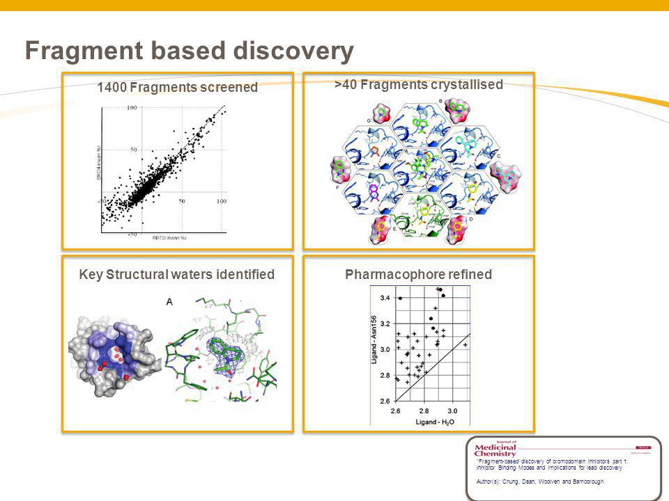 Fragment based discovery