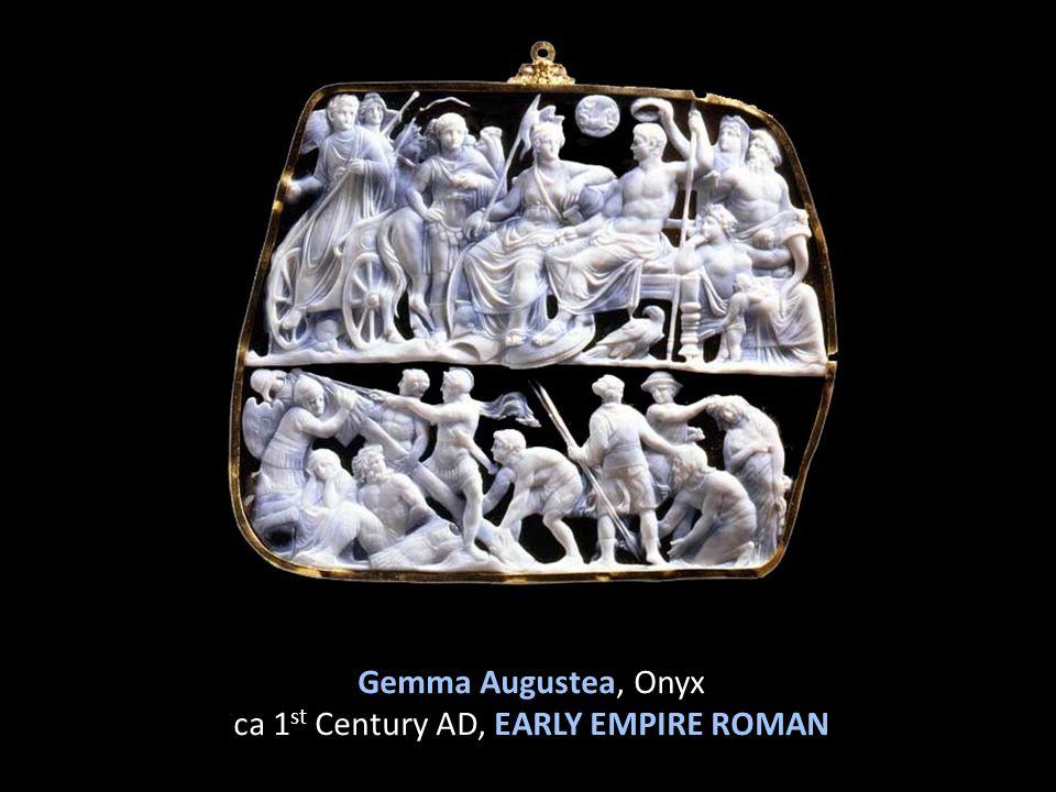 Gemma Augustea, Onyx ca 1st Century AD, EARLY EMPIRE ROMAN