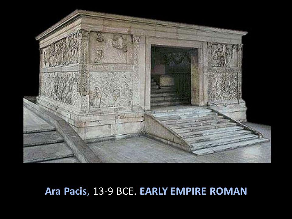 Ara Pacis, 13-9 BCE. EARLY EMPIRE ROMAN