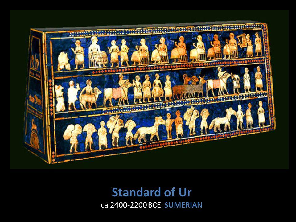 Standard of Ur ca 2400-2200 BCE SUMERIAN