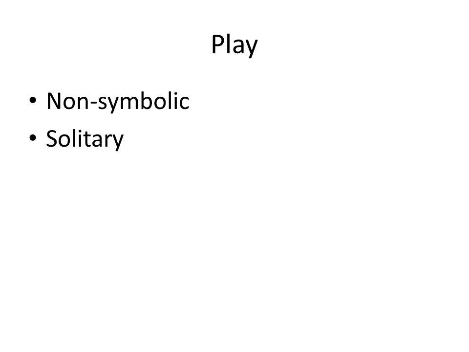 Play Non-symbolic Solitary