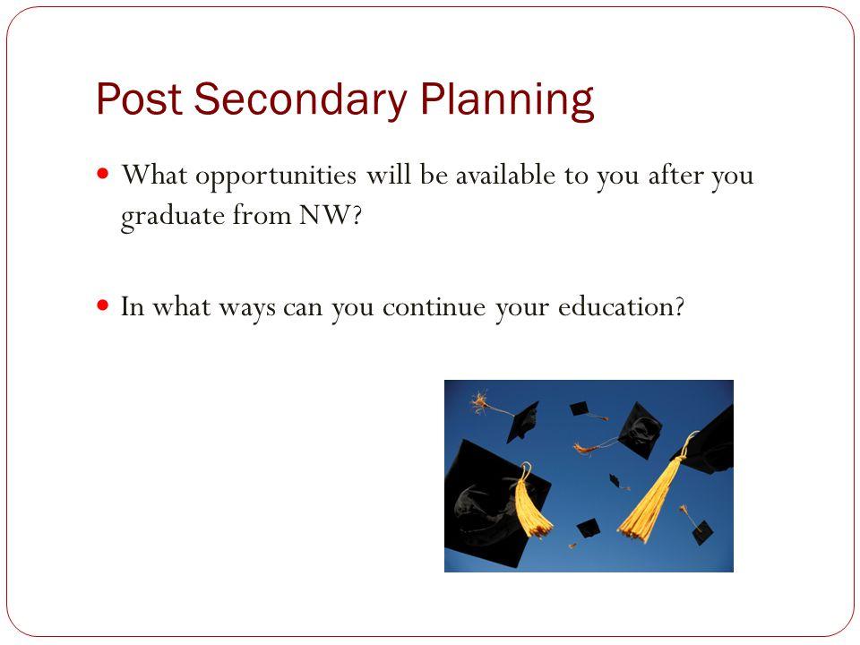 Post Secondary Planning