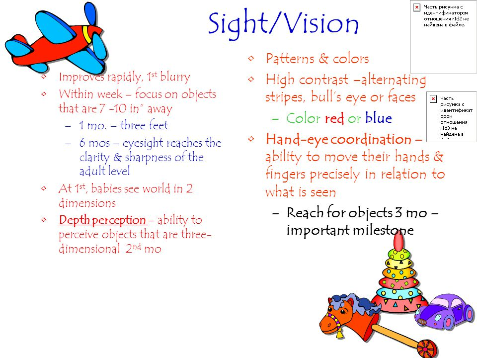 Sight/Vision Patterns & colors