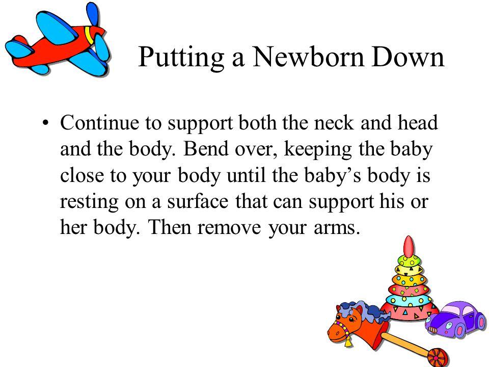 Putting a Newborn Down