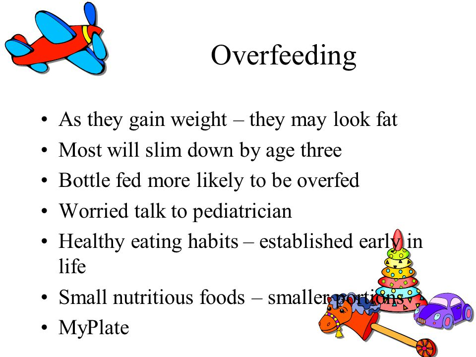 Overfeeding As they gain weight – they may look fat