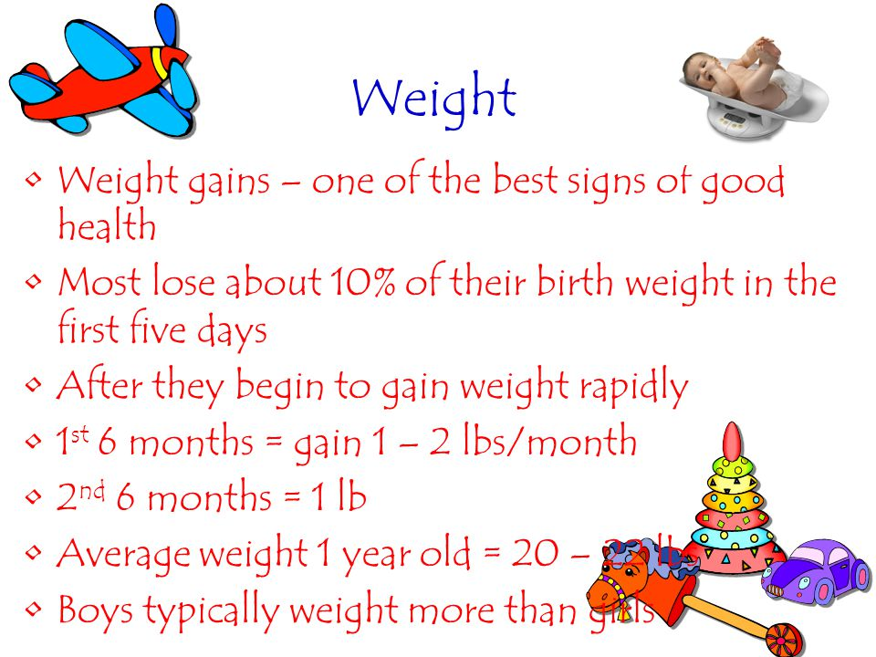 Weight Weight gains – one of the best signs of good health