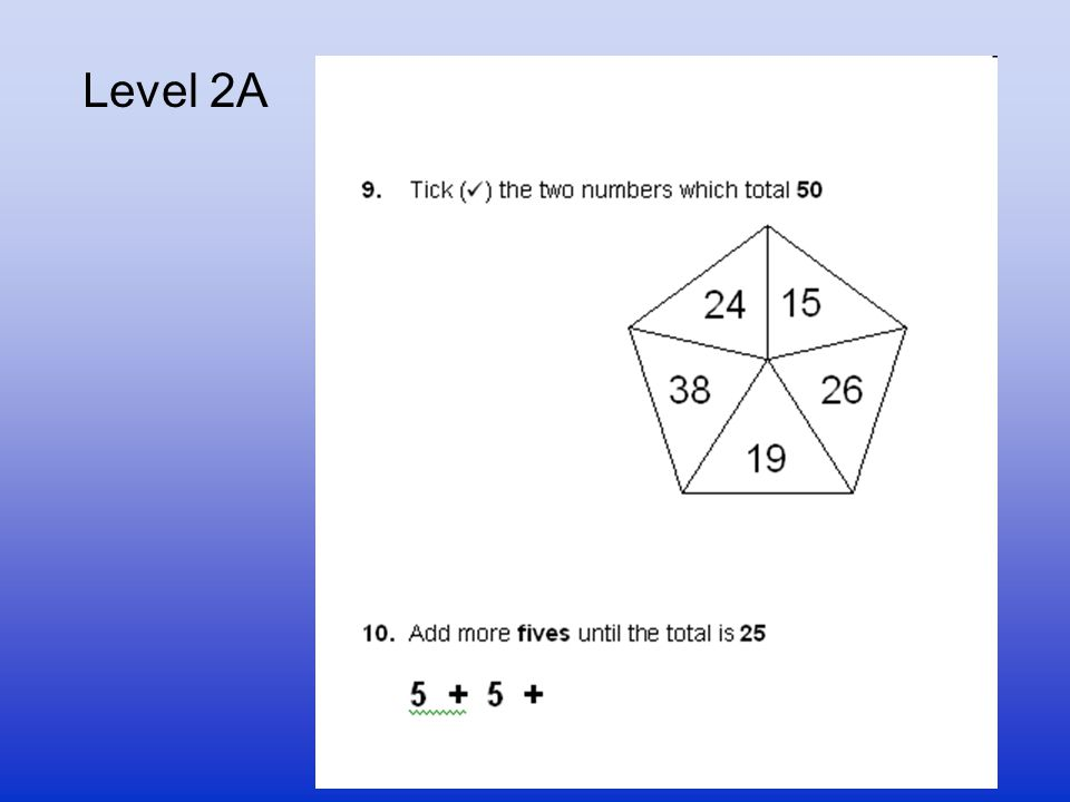 Level 2A