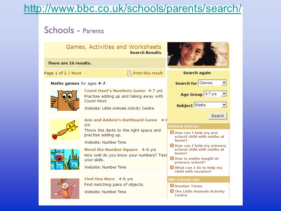 http://www.bbc.co.uk/schools/parents/search/