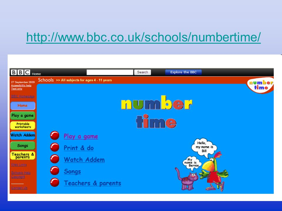 http://www.bbc.co.uk/schools/numbertime/