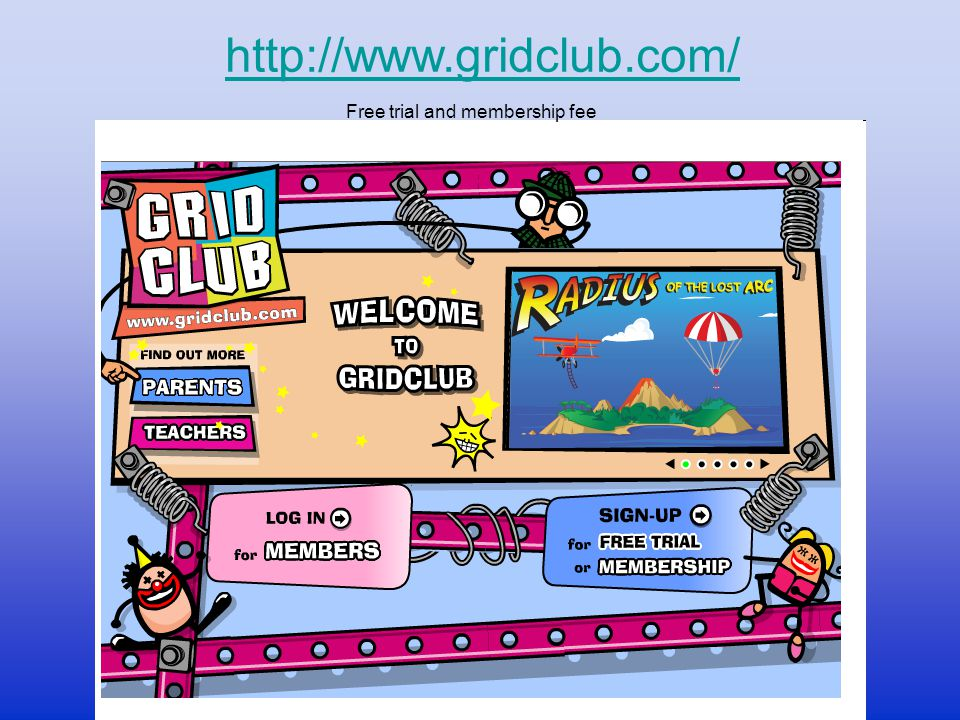 http://www.gridclub.com/ Free trial and membership fee