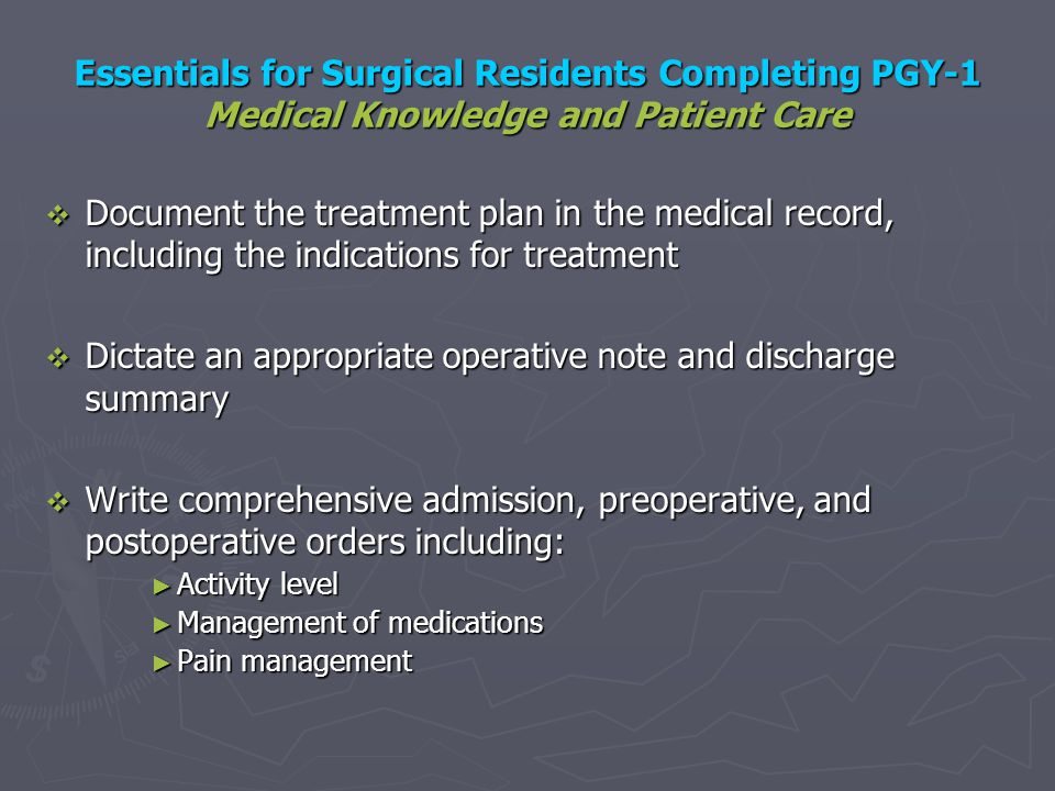 Dictate an appropriate operative note and discharge summary