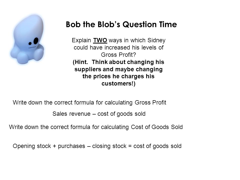 Bob the Blob's Question Time
