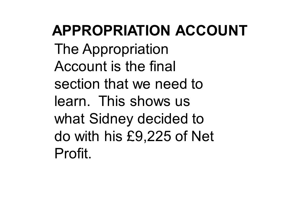 how to do profit and loss account