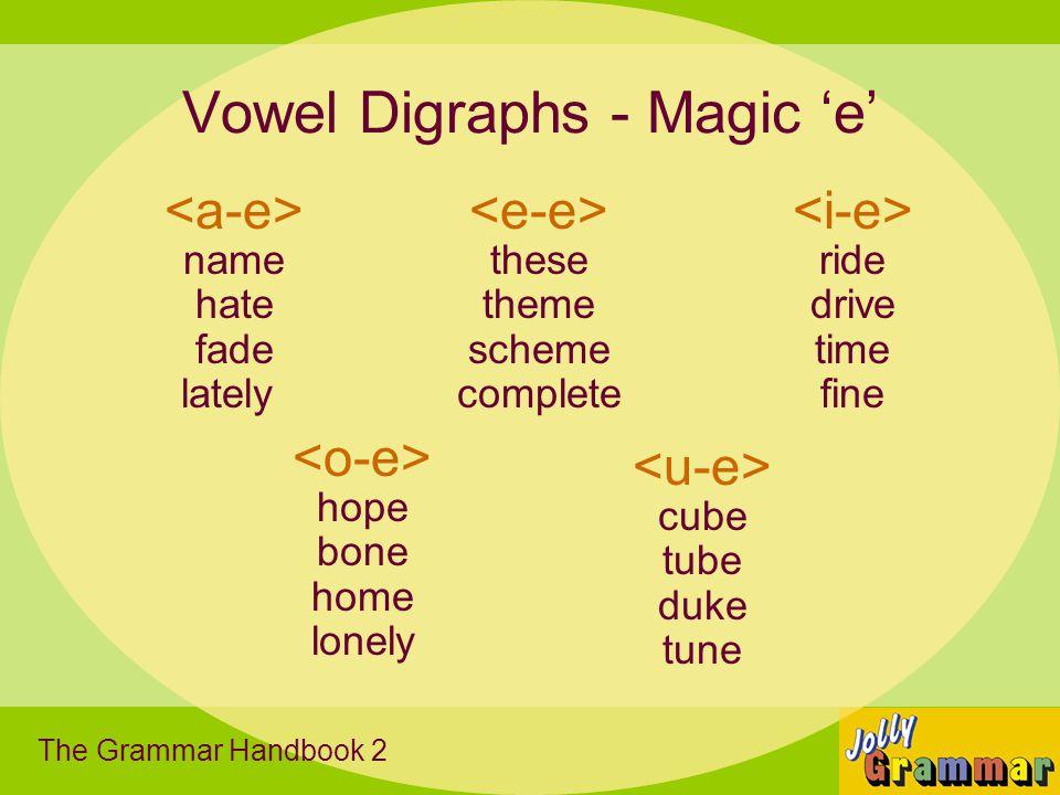 Vowel Digraphs - Magic 'e'