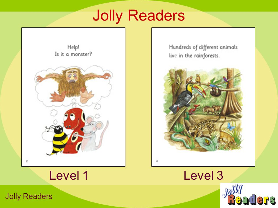 Jolly Readers Level 1 Level 3 Jolly Readers