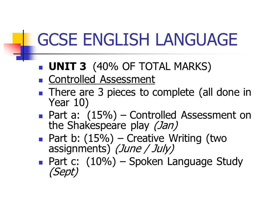 spoken language gcse essay introduction Introduction to spoken language to teach macbeth by william shakespeare and essay personal learning checklists for gcse english language.