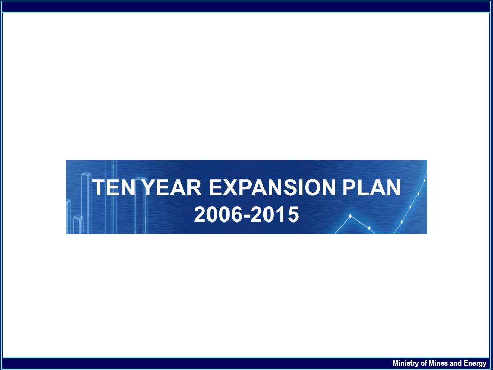 TEN YEAR EXPANSION PLAN