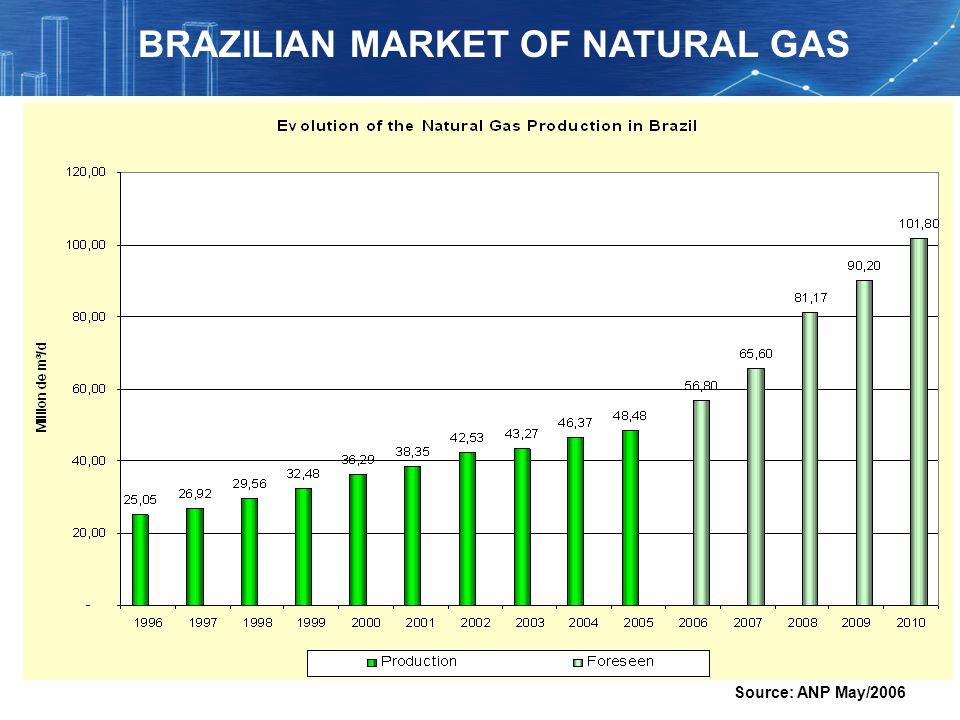 BRAZILIAN MARKET OF NATURAL GAS
