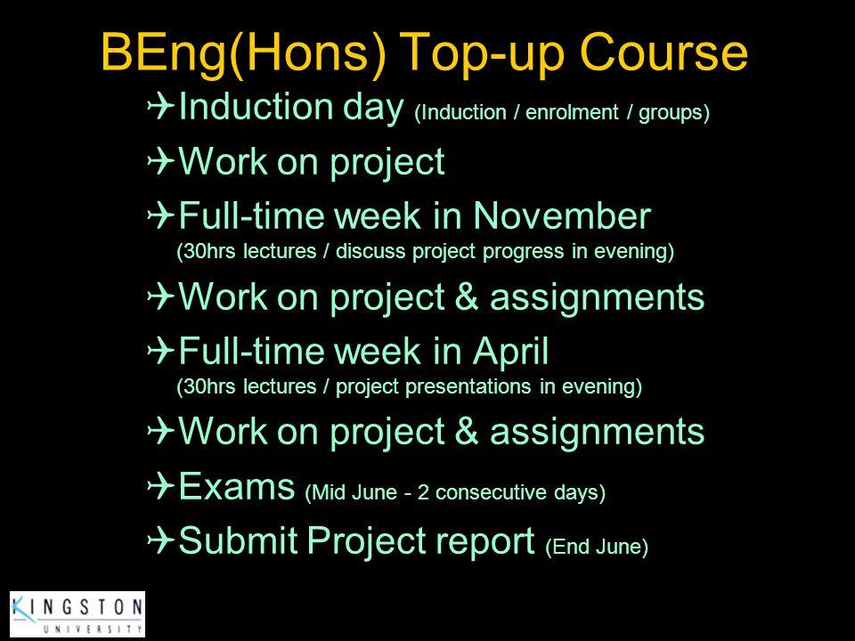 BEng(Hons) Top-up Course