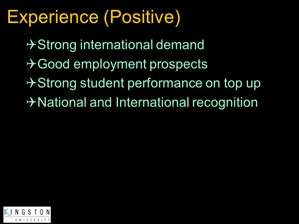 Experience (Positive)