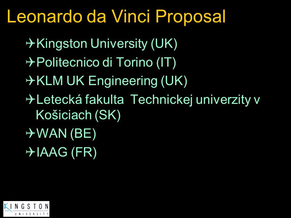 Leonardo da Vinci Proposal
