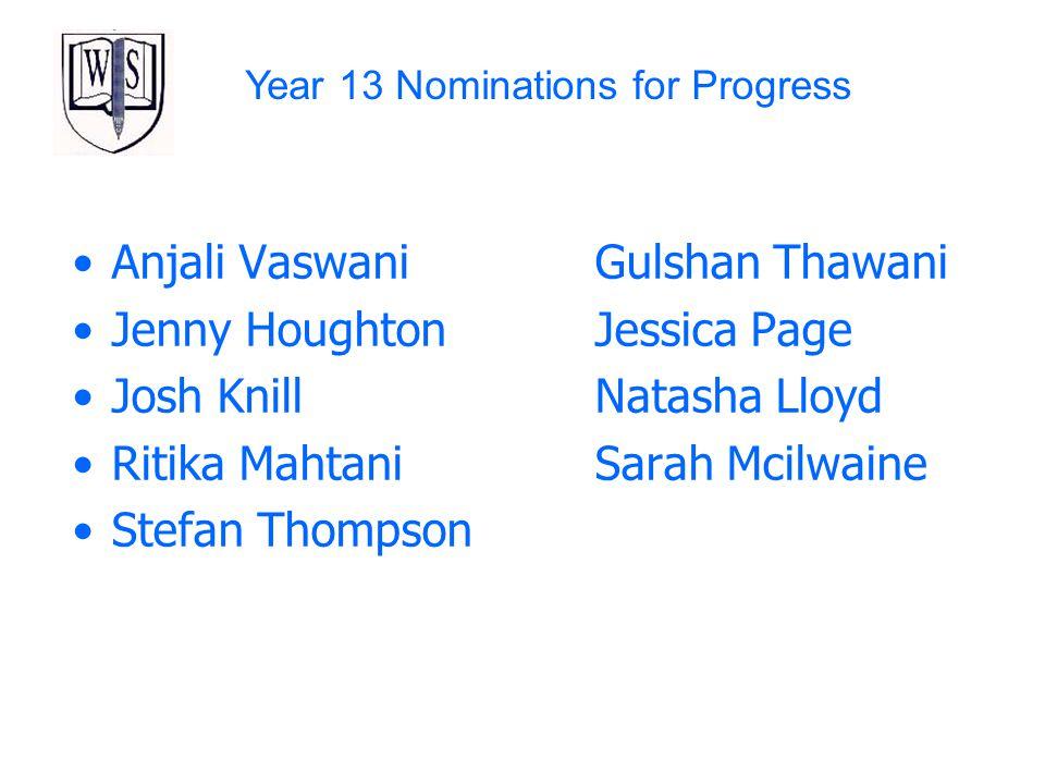 Anjali Vaswani Gulshan Thawani Jenny Houghton Jessica Page